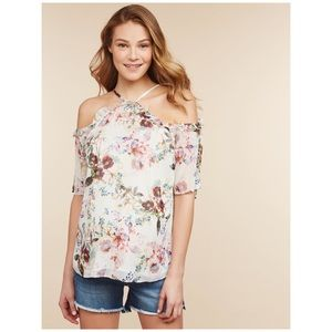 Jessica Simpson | Floral Maternity Top